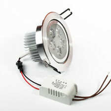 3W 5W LED Recessed Ceiling Light Dimmable Downlight Warm Cool White Spot Lamp #