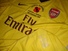 Arsenal NIKE 2010-11 EPL Remembrance (vs Everton) Long-sleeve Player-issue Shirt