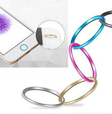 Metal Home Button Ring Circle Cover Sticker Skin For Apple iphone 5S 6 6Plus IMX