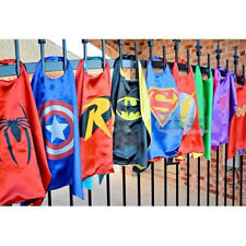 Wholesale Superman Satin Cape Boy Girl Costume for Halloween Decor 15 Assortment