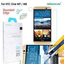 HTC One M9 M8 Genuine Nillkin 9HR Tempered Glass Screen film Protector for HTC