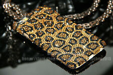 Super Bling Leopard Austria Diamond Crystal Case Cover For iPhone 6S/6S Plus