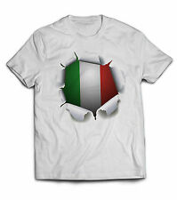 Kids children Italy Italian 3D shirt jersey football soccer LIMITED EDITION