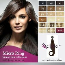 Micro Ring / Easy Loop 100% Remy Human Hair Extensions