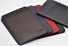 """New Luxury Slim Case Cover for Amazon Kindle Series 6"""" eBook Pouch/Sleeve"""