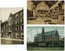 COLLEGE SCHOOL POSTCARD ASSORTMENT ETON RUGBY ROYAL NAVAL TECHNICAL POSTCARDS
