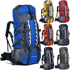 Large 80L Outdoor Sports Backpack Internal Frame Bag Camping Hiking Travel Bag