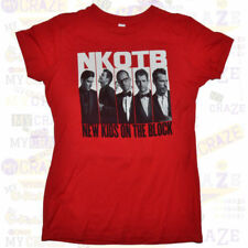 NEW KIDS ON THE BLOCK NKOTB Package American Tour Red T-Shirt