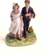 "A NORMAN ROCKWELL MUSEUM 1982 ""VACATION"" PORCELAIN FIGURINE"