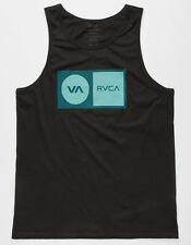 100% AUTHENTIC MENS RVCA CORRECTION TANK SIZE S, M OR L BLACK