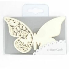 10x Talking Tables Butterfly Place Cards Wedding Table Party Decoration