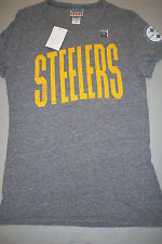 Pittsburgh Steelers  Junk Food NFL Womens Touchdown Triblend T-Shirt