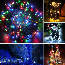 30M 300 LED String Fairy Lights Waterproof Green Cable Xmas Christmas Tree Plant