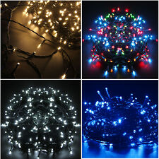 20/30/50M Green Cable LED String Fairy Light Indoor Outdoor Xmas Christmas Party
