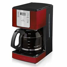Mr.Coffee JWX36-NP 12-Cup Programmable Coffeemaker Stainless Steel grey,blue