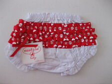 MUD PIE  HOLIDAY RUFFLES BLOOMER DIAPER COVER NEW