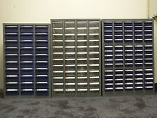 30 Drawer Parts Organiser Tool Box Blue or Clear drawers, powder coated cabinet