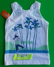 NWT. Gymboree beach girl sleeveless T-shirt Size ( 5,7 , 8 )