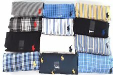 New Mens Polo Ralph Lauren Full Cut Woven Cotton Boxer 28 30 32 34 36 38 40 42