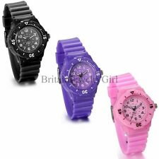Kids Child Boy Girl Sports Electronic Student Wrist Outdoor Watch Xmas Gift
