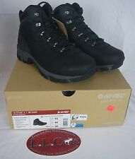 Hi Tec Altitude V I Men's WP Wide Hiking Boot Hiker Trail 52049W Black Charcoal