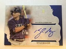 KYLE SEAGER 2015 TOPPS SUPREME SIMPLY SUPREME ON CARD AUTO