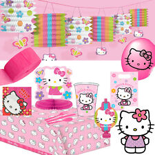 Hello Kitty Birthday Party Supplies - All in same listing - FREE DELIVERY Sanrio