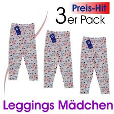 Schiesser - Leggings Girls 3 Pack Girls Leggings Size 98 104 110 116 128