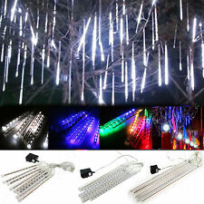 Meteor Shower Falling Star/ Rain Drop/ Icicle Snow LED Xmas Tree String Lights