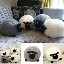 Plush Toys Cute Stuffed Soft Sheep Cushion Character Kids Baby Gift Doll Pillow