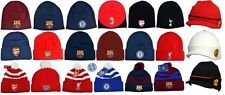 Soccer Winter Hats Knit Beanie Peaked TurnUp Official European Football Team Cap