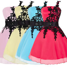 XMAS SPECIAL OFFER! Short Mini Evening Party Prom Dress Bridesmaid Cocktail Gown