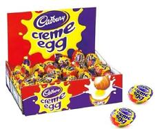 CADBURY CREME EGG 3-48 MILK CHOCOLATE EGGS CHOOSE AMOUNT FULL BOX GIFT CREAM