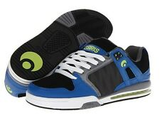 OSIRIS PIXEL BLUE BLACK LIME SKATE SHOES