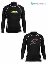 Osprey Adult Long Sleeve Thermal Rash Vest Womens Mens UV Protection Teen Guard