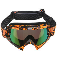 Motorcycle Motocross Dirt Bike OFF-ROAD Goggles Clear Tinted PC Lens Eyewear