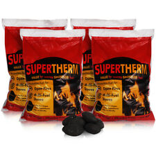 Premium Supertherm Smokeless Coal Fuel for Open Fires, Multi Fuel Fire & Stove