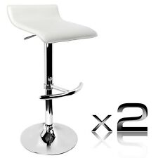 Set of 2 modern PVC Leather Kitchen Bar Stools T706