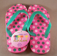 Funny Feet Girls Flip Flops Slippers Sandals Shoes New With Tags Size: S, M, L