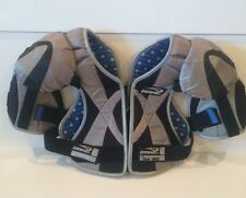 Brine SPARTAN LaCrosse Youth MEDIUM Shoulder Pads  Chest Protector  [LSPSPA6-MD)