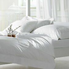 1000TC COMPLETE BEDDING [SOLID WHITE] 100% EGYPTIAN COTTON CHOOSE SIZES & ITEMS