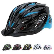 Mens Adult Helmet Bike Bicycle Cycling EPS Red color With Visor Mountain W1B8