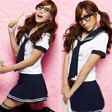 Cosplay Japanese School Girl Students Sailor Uniform Sexy Anime Costume Fashion