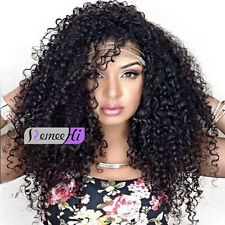"""12""""-16"""" indian human hair full lace wig fashion Curly lace front wig baby hair"""