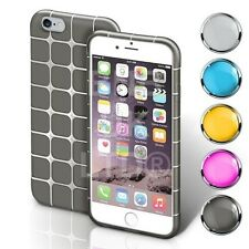 Transparent Clear Cube Silicone Gel Case Cover For Various Mobiles