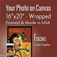 """Custom Gallery Wrapped Canvas, Your Photo on Canvas Print - 16""""x20"""""""