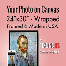 """Custom Gallery Wrapped Canvas, Your Photo on Canvas Print - 24""""x30"""""""