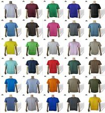 Alstyle Apparel T Shirts AAA 1301 Mens Plain Crewneck Short Sleeves 2XL 3 PACK