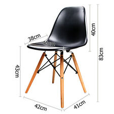 Set of 2 & 4 Eames Inspired Replica Dining Chairs