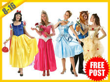 Ladies Costume Fancy Dress Up RD DISNEY Princess Fairytale Story Book Deluxe